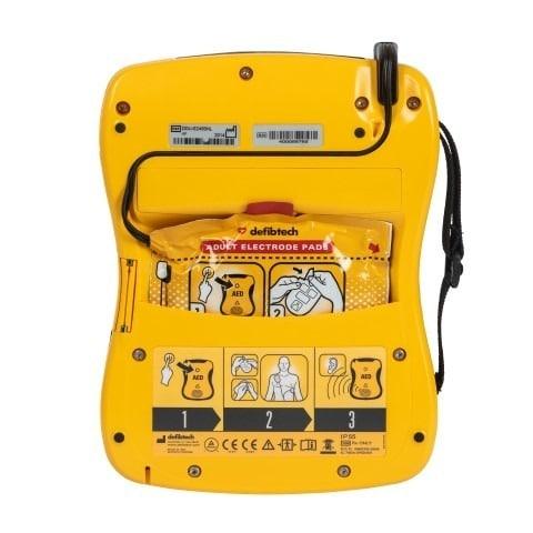 AED lifeline view achterzijde