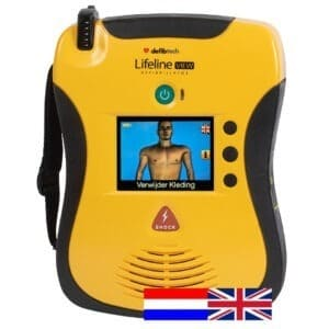 AED engels Defibtech view