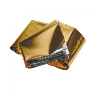 Oliedeken goud zilver